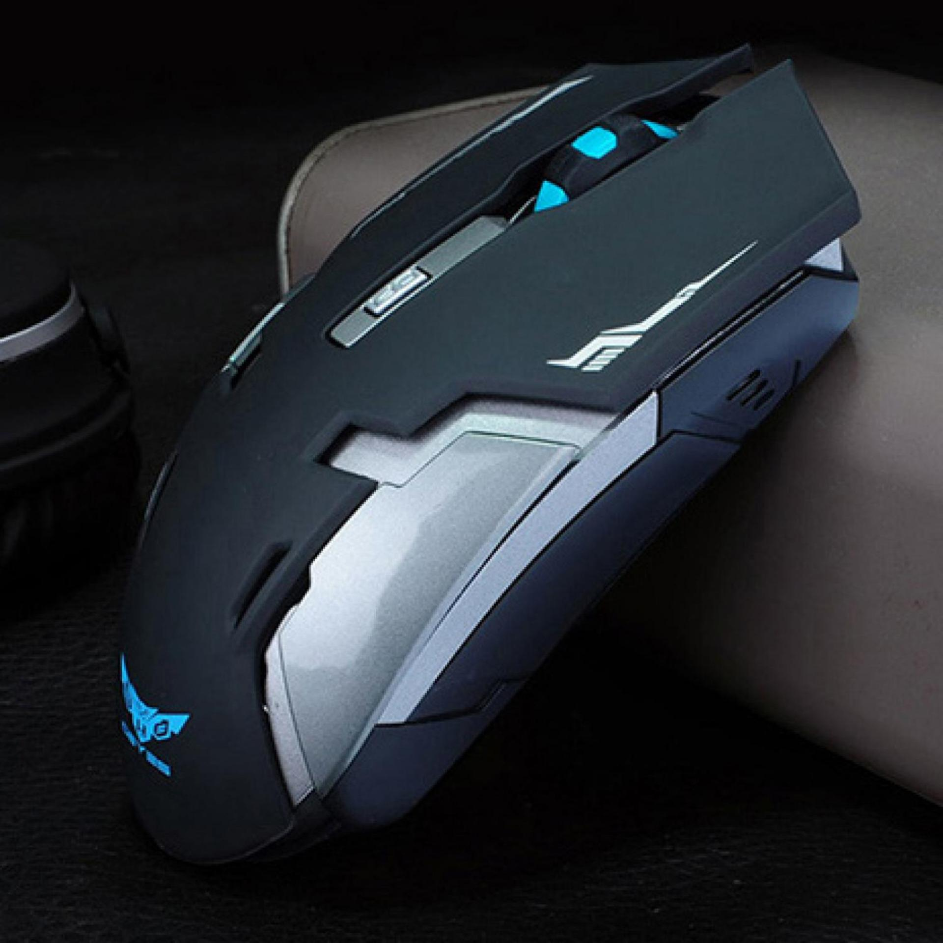 Review Toko Rechargeable Wireless Usb Gaming Mouse 1600 Dpi Black Online