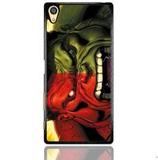 Red Hulk Vs Green Hulk F0212 Sony Xperia Z5 Premium Custom Hard Case