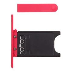 Beli Merah Kartu Sim Oem Usb Door Cover Untuk Nokia Lumia 800 Intl