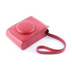 Merah PU Kulit Kasus Digital Kamera Kemasan Tas ForFujifilmXQ1XQ2 XF-1 XF1 Kamera Digital-Internasional