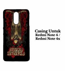 REDMI NOTE 4 Case Avenged Sevenfold A7X Hard casing cover