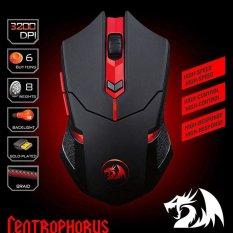 Diskon Redragon M601 Centrophorus 3200 Dpi Gaming Mouse For Pc 6 Tombol Berat Tuning Coconie