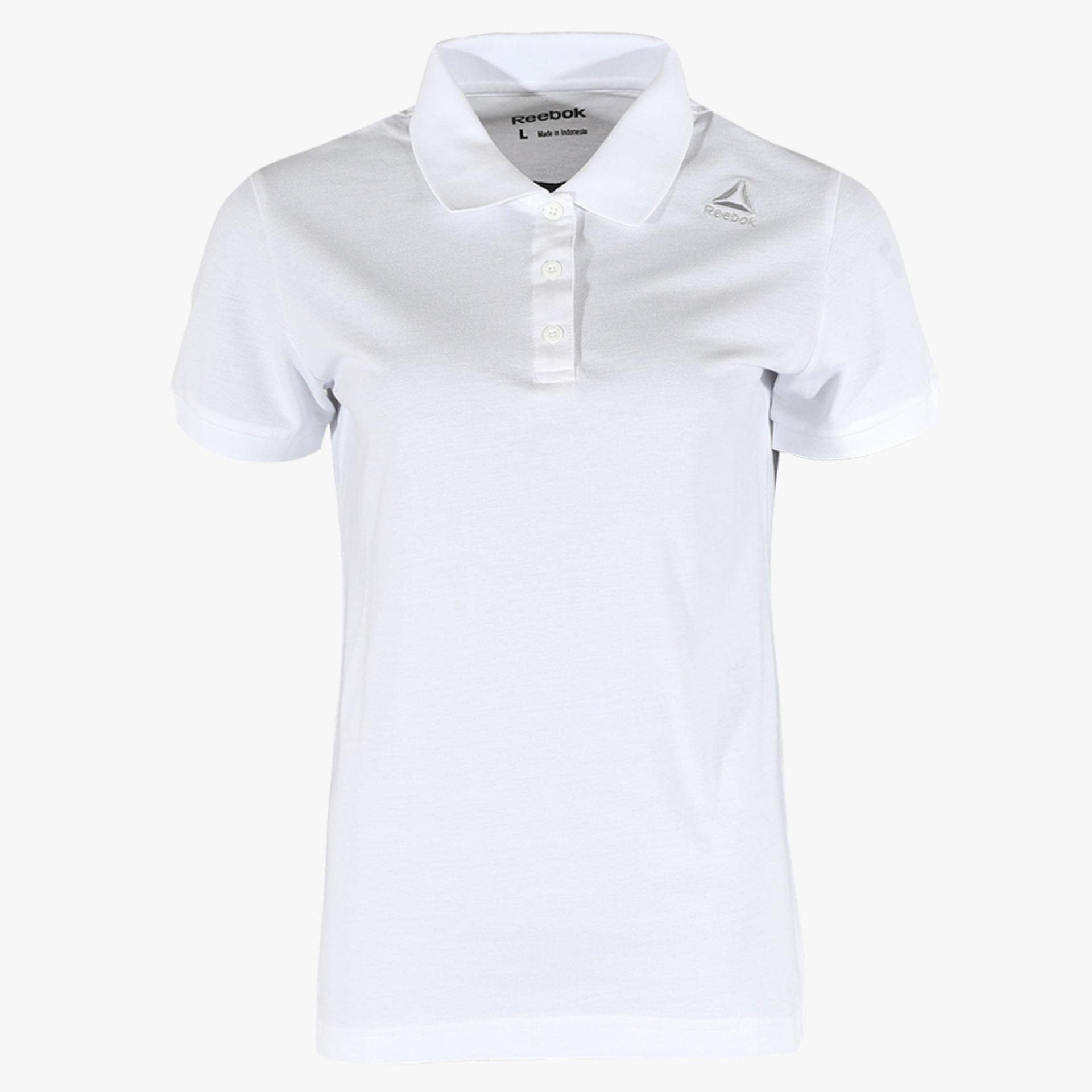 Reebok Basic Women's Polo - Putih - LazMall