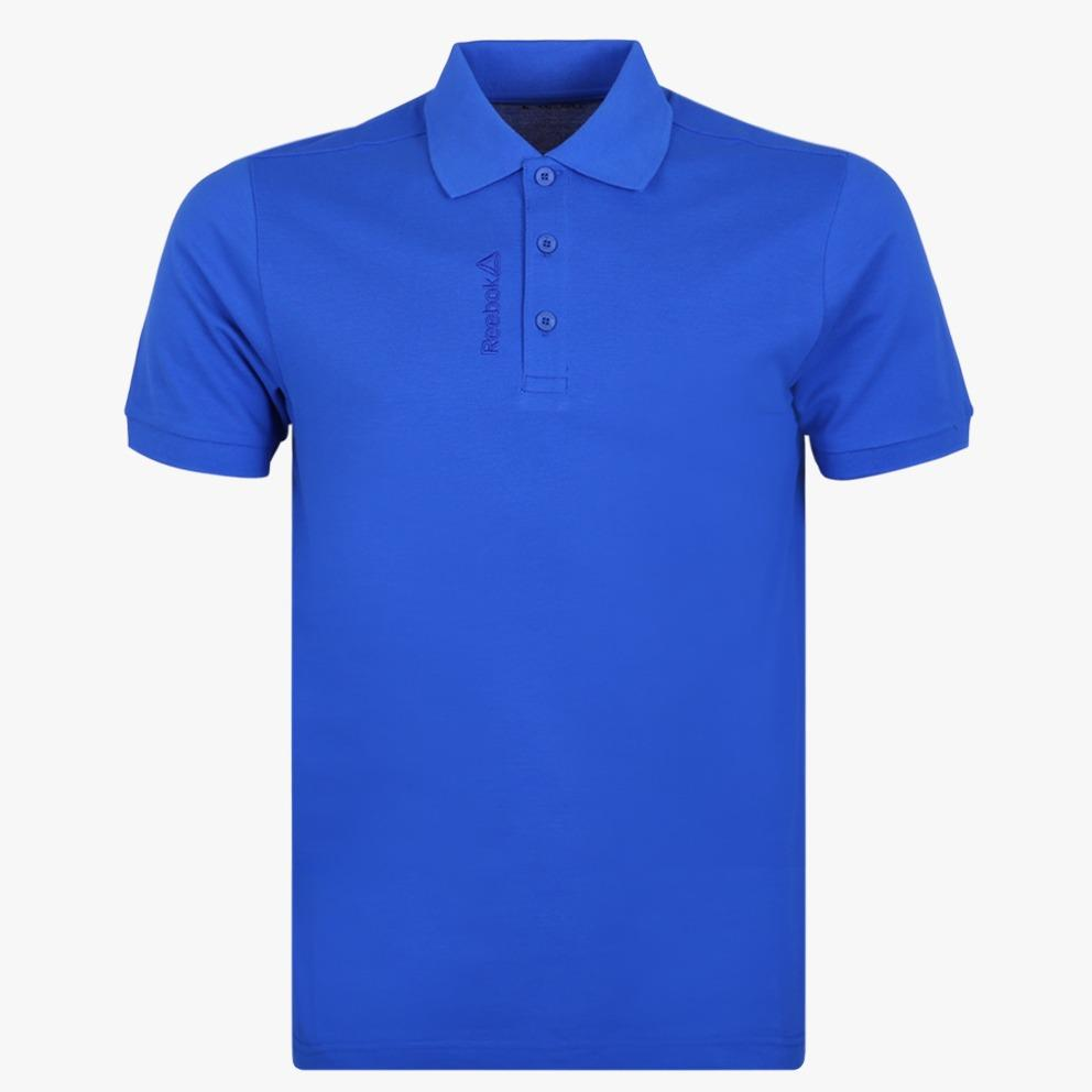 Jual Reebok Men S Polo Biru Reebok Original