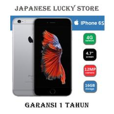 APPLE IPHONE 6S 16GB SPACE GREY - 4G LTE - GARANSI 1 TAHUN
