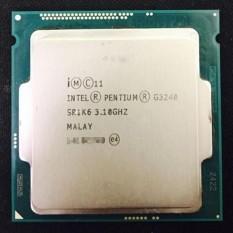 Prosesor Intel Pentium Ganda-Inti G3240 (3.1 GHz, 3 MB Cache, LGA1150 Soket)-Internasional