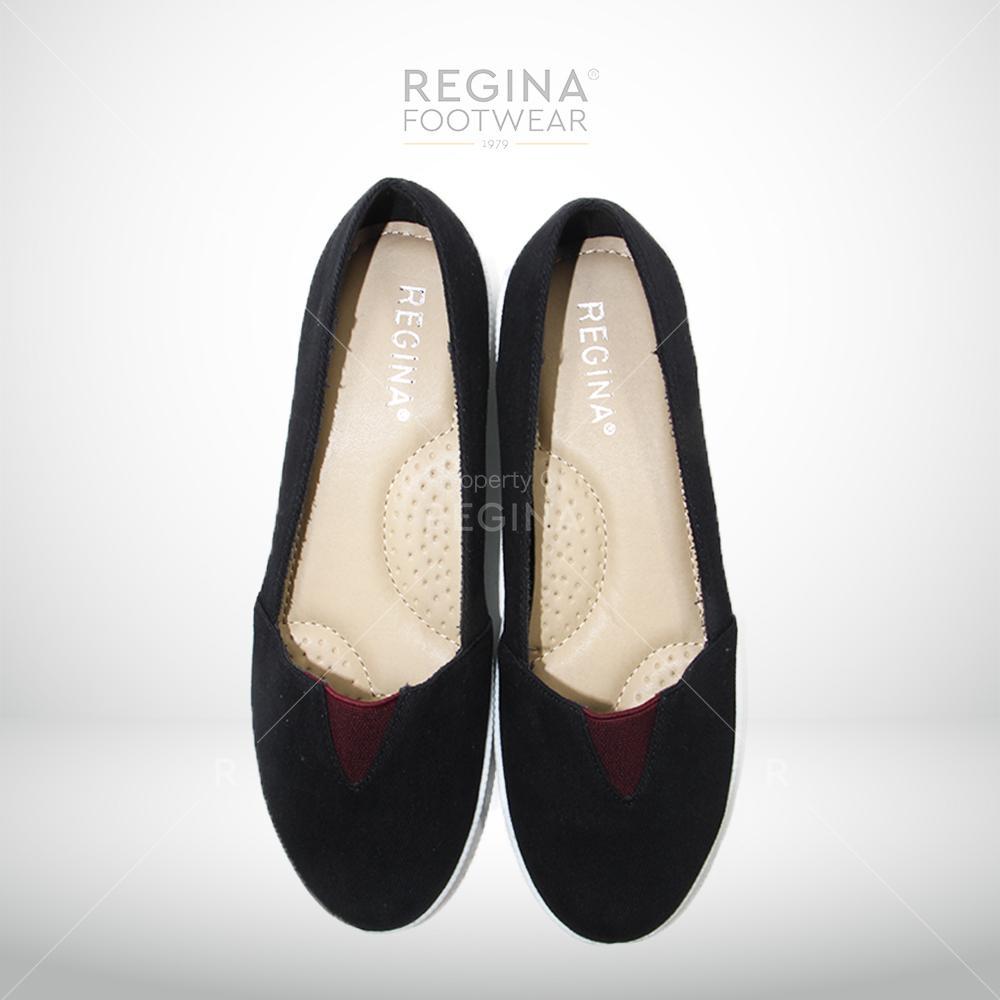 Regina Flat Shoes 1704-611 - Black Size 36/40