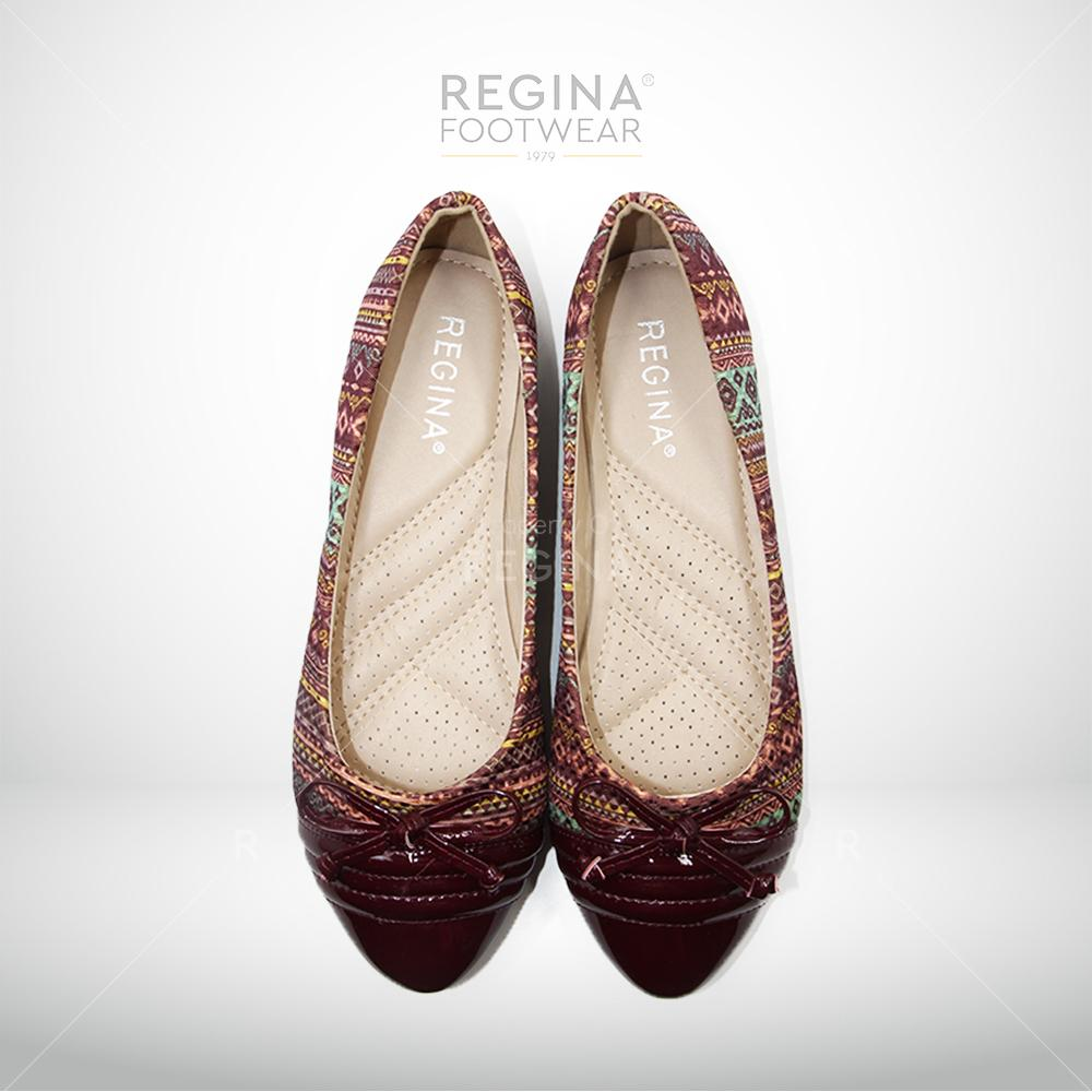Harga Regina Flat Shoes Motif Batik Pita Kecil 1704 602 Maroon Size 36 40 Yg Bagus