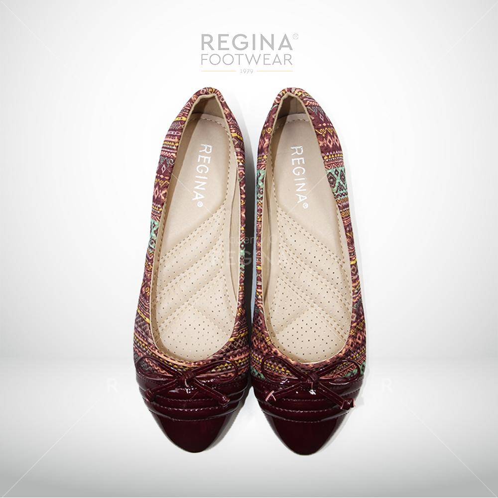Harga Regina Flat Shoes Motif Batik Pita Kecil 1704 602 Maroon Size 36 40 Yang Murah Dan Bagus