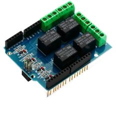Relay Shield 4 Channel for Arduino Uno Mega