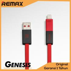 Remax 2 in 1 Shadow Cable for Micro USB and Lightning Iphone 8 pin Compatible for Android Samsung X