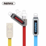 Jual Remax 2In1 Kabel Usb Ke Micro Usb Kabel Data Charger 2 1A 8Pin Flat Data Charging Kabel Usb Untuk Iphone 5 6 7 7 Plus Sam Sung Ipad Xiao Mi Intl Murah Tiongkok