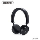 Toko Remax 300Hb Touch Bluetooth V4 1 Headset Kulit Telinga Pad Remote Headphone Kuat 3D Suara Bass Dengan Nfc 3 5Mm Jack Mikrofon Intl Terdekat