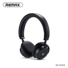 Obral Remax 300Hb Touch Bluetooth V4 1 Headset Kulit Telinga Pad Remote Headphone Kuat 3D Suara Bass Dengan Nfc 3 5Mm Jack Mikrofon Intl Murah