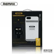 Remax 360 Degrees Mobile Car Holder with Casing iPhone 7 Plus - RM-C19 - White