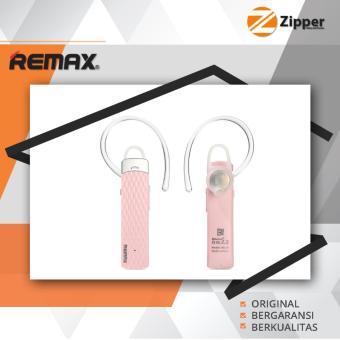 Bandingkan Toko Remax Bluetooth Headset Handsfree HD Voice T9 Black / white / pink sale -