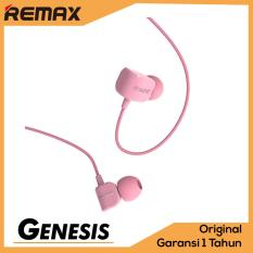 Harga Termurah Remax Earphone Headset Crazy Robot Rm 502 In Earbud Low Frequency Clear Sound With Microphone Pink