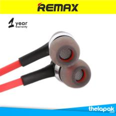 Remax Earphone Headset RM535 for Iphone + Android - Merah