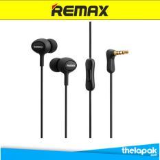 Remax Earphone RM515 Headset - Hitam