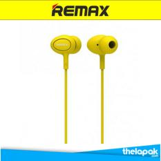 Remax Earphone RM515 Headset - Kuning