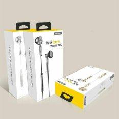 Spesifikasi Remax Earphone With Microphone And Volume Control Rm 305M Lengkap