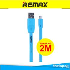 Remax Full Speed Cable Micro USB 2M - Cable Data 2M - 2000mm - Biru