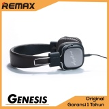 Harga Remax Headphone Headset Rm 100H Elegant Design Premium Pu Leather Foldable With Microphone Black Baru Murah