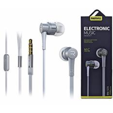 Promo Remax Headset Rm 535 Noise Isolation With Mic Hands Free Putih Remax