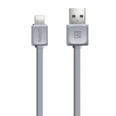 Kualitas Remax Iphone Ipad Kabel Data Charge Fast Charge Lightning Cable 1 Meter Abu Abu Remax