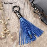 Jual Remax Kulit Tassel 8Pin Ke Kabel Usb Cincin Logam Gantungan Kunci Mengisi Kabel Data Charger Lightning Cable Untuk Iphone Ipad Intl Branded Original