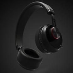 REMAX RB-500HB Headband Stereo Musik Nirkabel Bluetooth Headphone, untuk IPhone, Galaxy, Huawei, Xiaomi, LG, HTC dan Ponsel Cerdas Lainnya (Hitam)-Intl