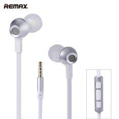 Remax RM 610D 3.5 Earphone Plug Mm Kontrol IN-LINE Pelantang Telinga Stereo Di Telinga