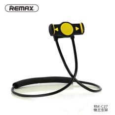 Beli Remax Rm C27 Mobile Phone Holder 360 Derajat Fleksibel Berdiri Malas Bisa Leher Menggantung Pinggang Hanging Dengan Shcokproof Bubble Dukungan 4 10 Inch Intl Tiongkok