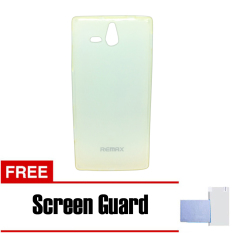 Remax Softcase Sony Xperia U Pudding Case Series - Putih + Free Screen Guard