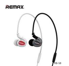Harga Remax Sport Earphone Wireless Bluetooth Headset Dengan Mic Stereo Mikrofon Untuk Android Ios Ponsel Putih Termahal