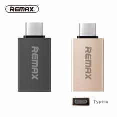 REMAX TIPE C OTG Adaptor Tipe-c Ke Adaptor USB Male To Female Mini USB Converter Pengisian Cepat untuk U-disk TYPE C untuk USB 3.0-Intl
