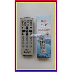 Remot Remote Tv Panasonic Tabung Flat Lcd Led Multi Universal Rj