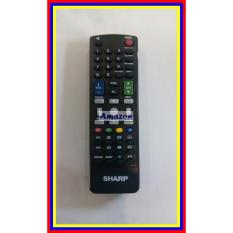 Remot Remote Tv Sharp Lcd Led 3D Kw