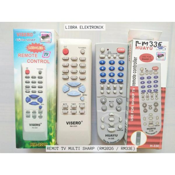 Remot TV Multi Sharp