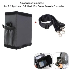 Remote Controller Sunhood All-surround 4.7inch Smartphone Sunshade with Lanyard Strap for DJI SPARK and MAVIC PRO - intl