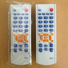Remote TV China Tabung - Putih