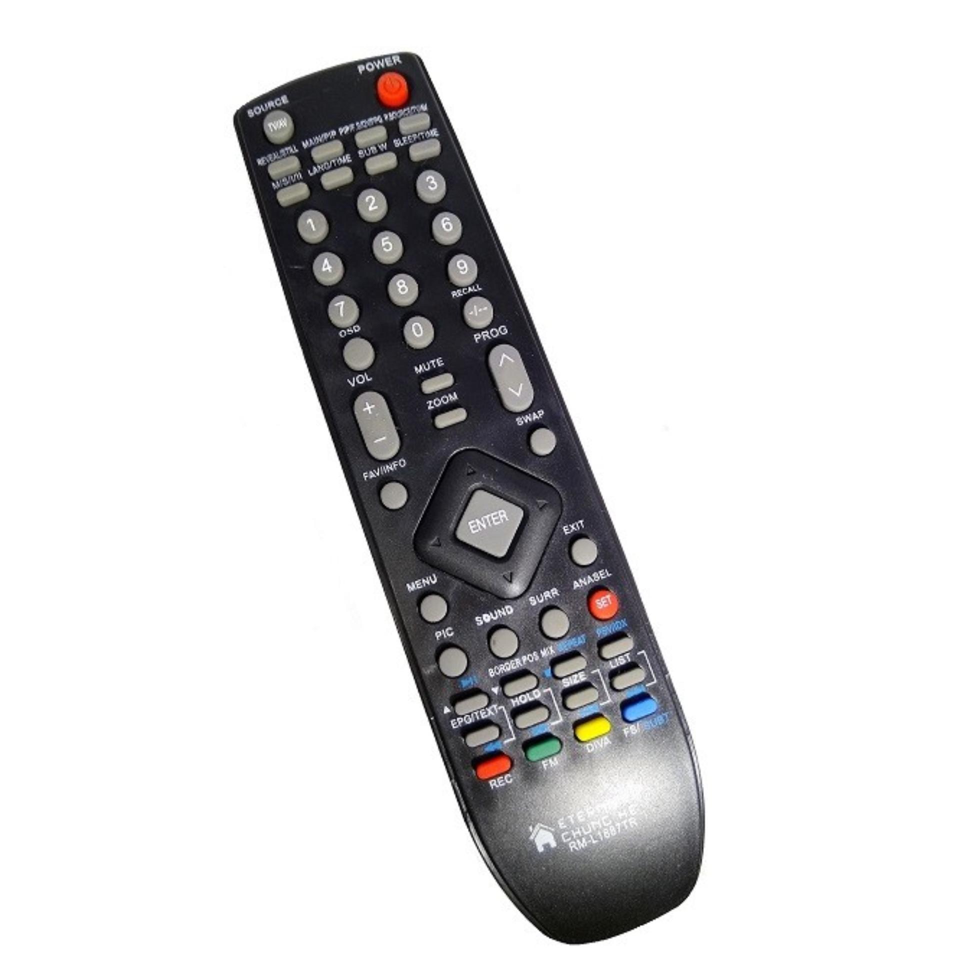 Remote TV LCD Polytron - Hitam