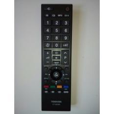 remote tv led toshiba original hitam