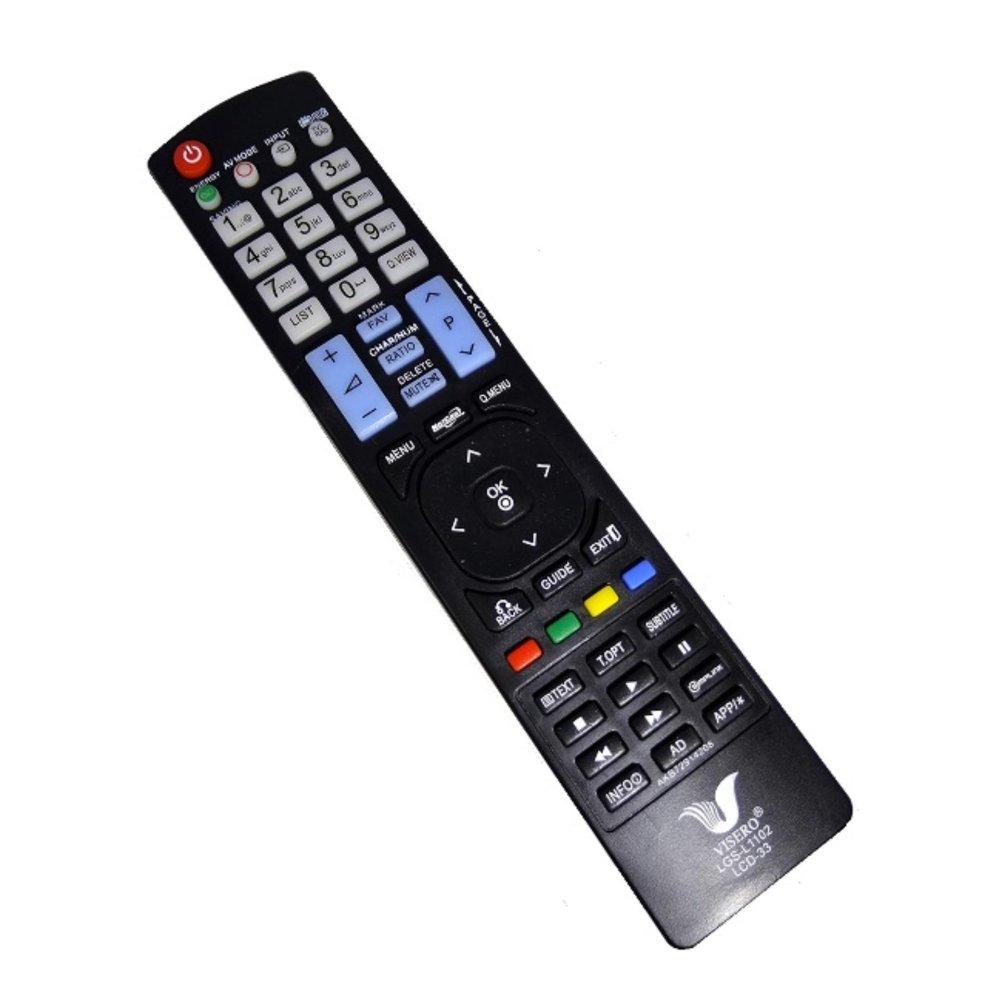Remote TV LG LED & LCD - Hitam