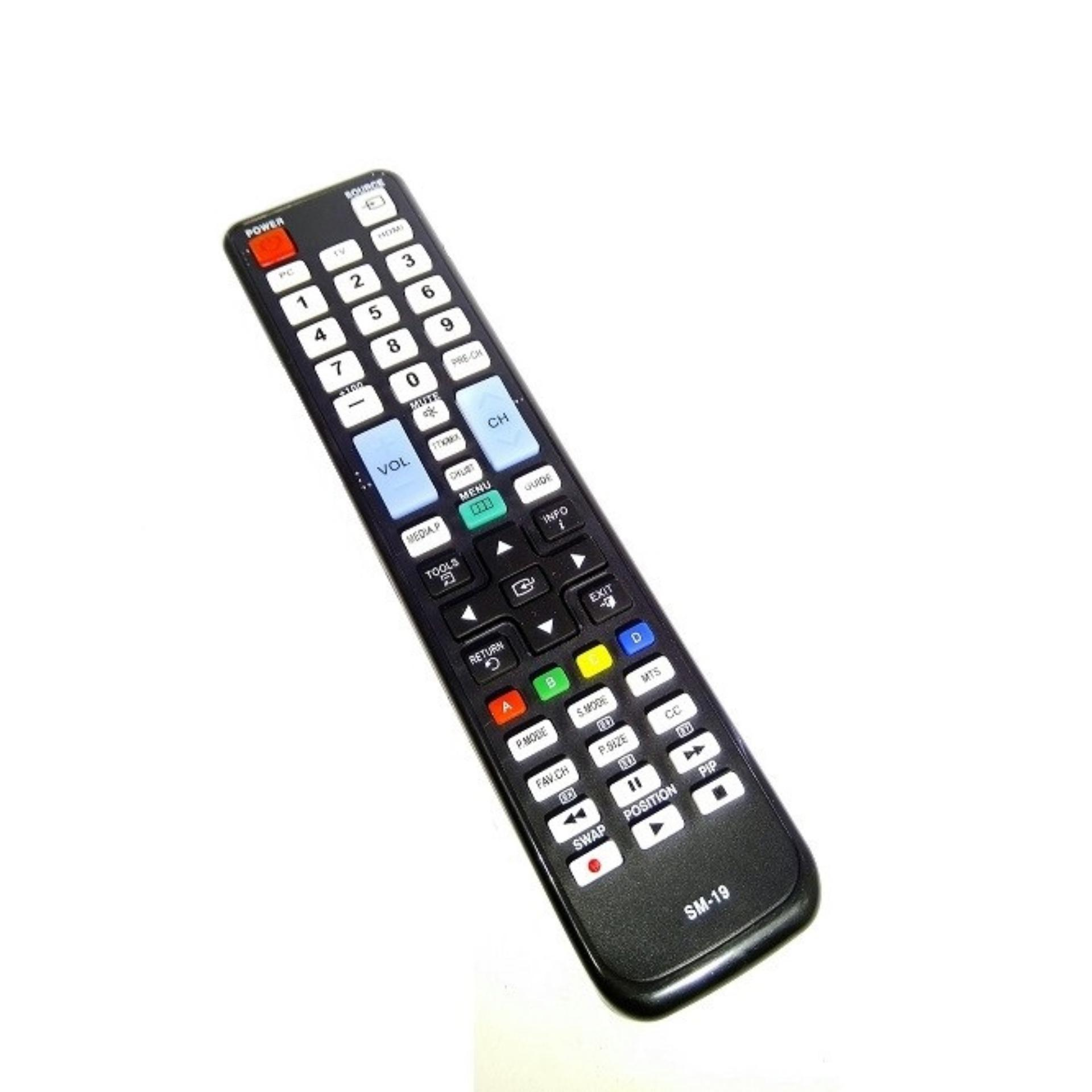 Remote TV Samsung LED & LCD - Hitam