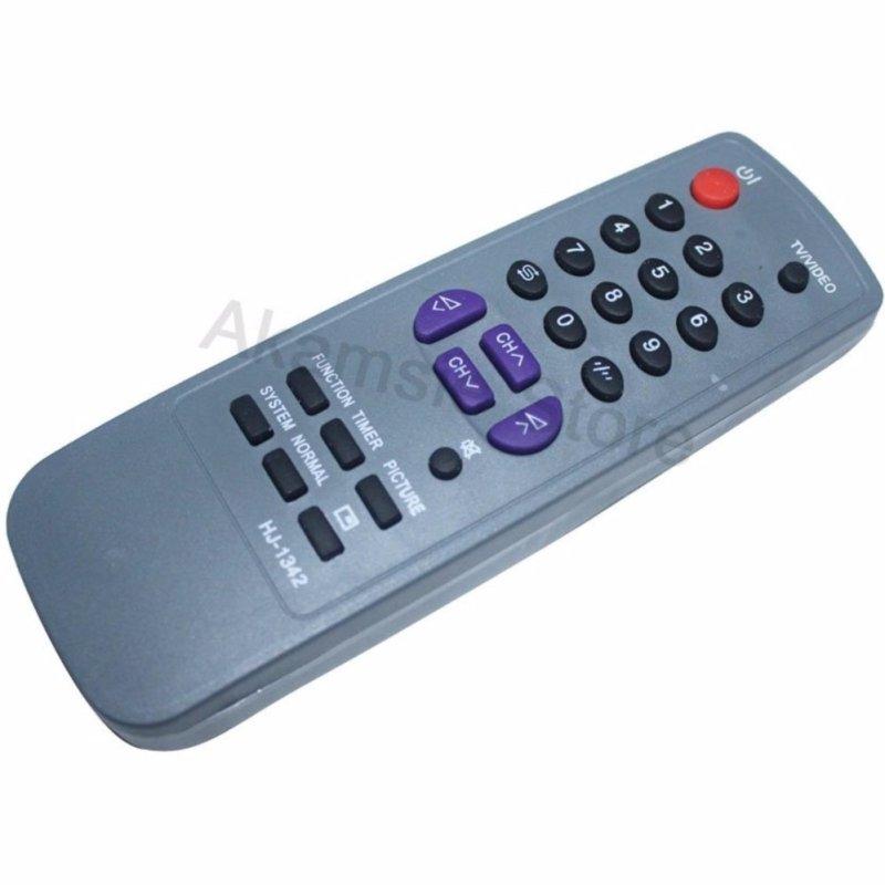 Remote TV Sharp Tabung abu-abu -tabung