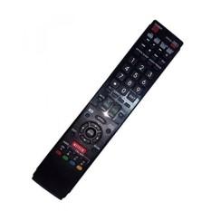 Diganti Remote Control Kompatibel untuk Sharp LC-60LE757U LC-60LE640UB LC-46LE832UN LC-40LE810UN LC-52LE835U LC40LE832U AQUOS LED LCD HD TV dengan NETFLIX 3D Tombol-Internasional