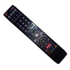 Diganti Remote Control Kompatibel untuk Sharp LC-70LE755U LC-60LE750U LC-60LE632U LC-60LE810UN LC46LE835U LC-70LE734UN AQUOS LED LCD HD TV dengan NETFLIX 3D Tombol-Internasional