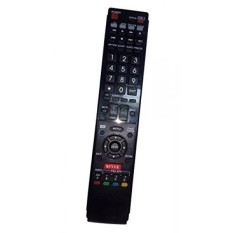 Diganti Remote Control Kompatibel untuk Sharp LC60LE847U LC60LE640UD LC52LE830U LC-46LE820 LC-70LE735U LC-46LE830U AQUOS LED LCD HD TV dengan NETFLIX 3D Tombol-Internasional