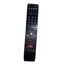 Diganti Remote Control Kompatibel untuk Sharp LC70C8470U LC70C6400U LC-60LE632UN LC-60LE820UN LC52LE835U LC-70LE632U AQUOS LED LCD HD TV dengan NETFLIX 3D Tombol-Internasional
